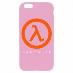 Чехол для iPhone 6/6S Half-life logotype