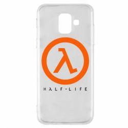 Чехол для Samsung A6 2018 Half-life logotype