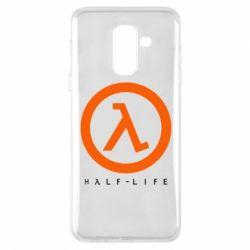 Чехол для Samsung A6+ 2018 Half-life logotype