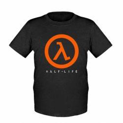 Детская футболка Half-life logotype