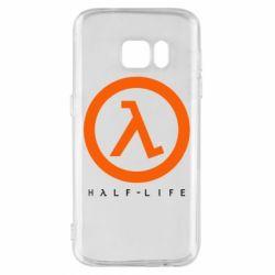 Чехол для Samsung S7 Half-life logotype
