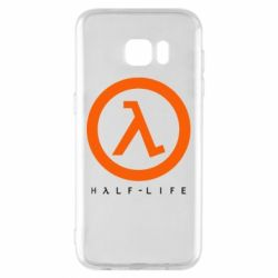 Чехол для Samsung S7 EDGE Half-life logotype