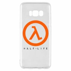 Чехол для Samsung S8 Half-life logotype