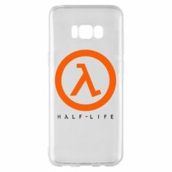 Чехол для Samsung S8+ Half-life logotype