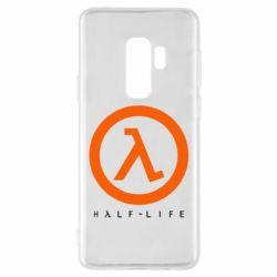 Чехол для Samsung S9+ Half-life logotype