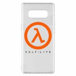 Чехол для Samsung Note 8 Half-life logotype