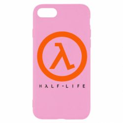 Чехол для iPhone 8 Half-life logotype