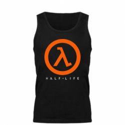 Мужская майка Half-life logotype