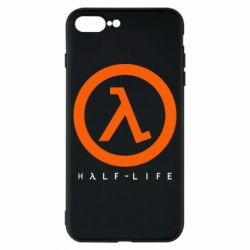 Чехол для iPhone 8 Plus Half-life logotype