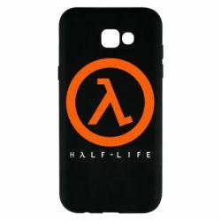 Чехол для Samsung A7 2017 Half-life logotype