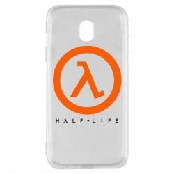 Чехол для Samsung J3 2017 Half-life logotype