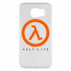 Чехол для Samsung S6 Half-life logotype