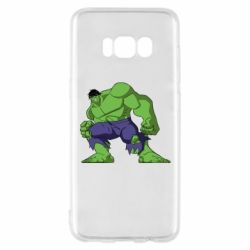 Чехол для Samsung S8 Халк