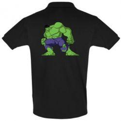 Мужская футболка поло Халк