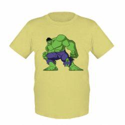 Детская футболка Халк - FatLine