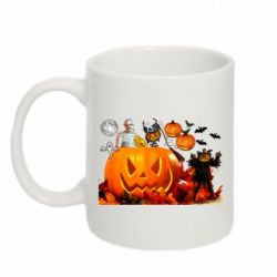 Кружка 320ml Halloween Clipart - FatLine