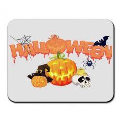 Коврик для мыши Halloween Logo - FatLine