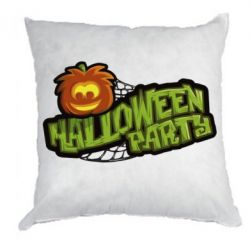 Подушка Halloween Party Logo - FatLine