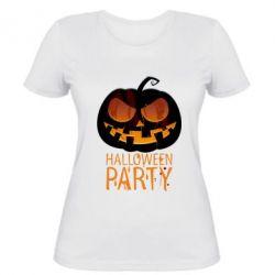 Женская футболка Halloween Party - FatLine