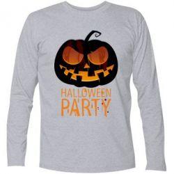 Футболка с длинным рукавом Halloween Party - FatLine