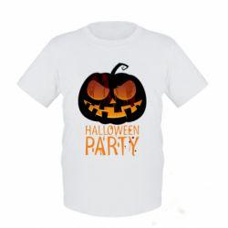Детская футболка Halloween Party - FatLine