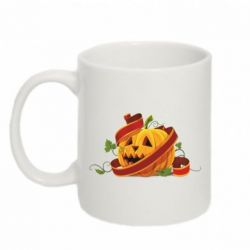Кружка 320ml Halloween pumpkin - FatLine