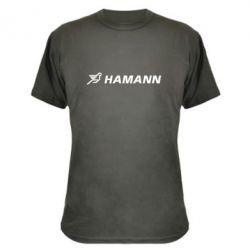 Камуфляжная футболка Hamann
