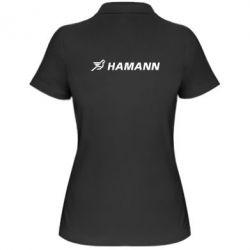 Женская футболка поло Hamann