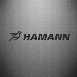 Наклейка Hamann
