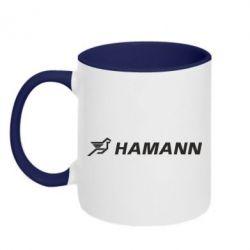 Кружка двоколірна 320ml Hamann