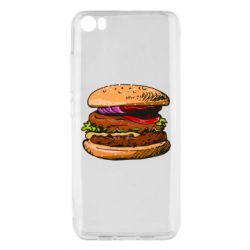 Чехол для Xiaomi Mi5/Mi5 Pro Hamburger hand drawn vector