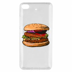 Чехол для Xiaomi Mi 5s Hamburger hand drawn vector