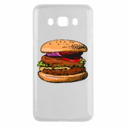 Чехол для Samsung J5 2016 Hamburger hand drawn vector
