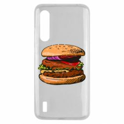 Чехол для Xiaomi Mi9 Lite Hamburger hand drawn vector