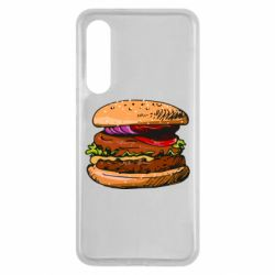 Чехол для Xiaomi Mi9 SE Hamburger hand drawn vector