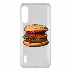 Чохол для Xiaomi Mi A3 Hamburger hand drawn vector