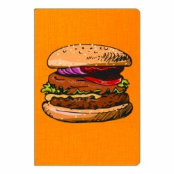 Блокнот А5 Hamburger hand drawn vector