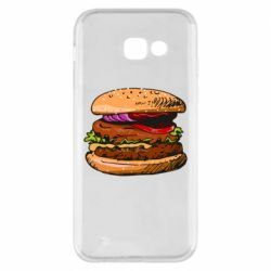 Чехол для Samsung A5 2017 Hamburger hand drawn vector