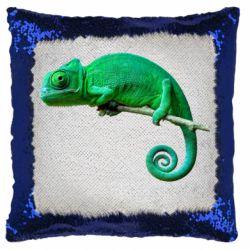Подушка-хамелеон Хамелеон