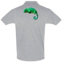 Мужская футболка поло Хамелеон