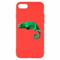 Чехол для iPhone 8 Хамелеон