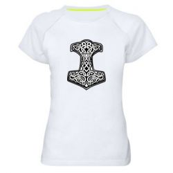 Жіноча спортивна футболка Hammer torus pattern