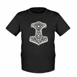 Дитяча футболка Hammer torus pattern