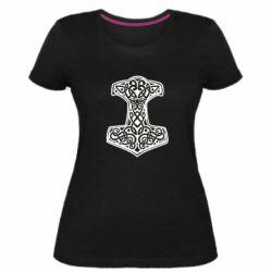 Жіноча стрейчева футболка Hammer torus pattern