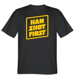 Футболка Han shot first