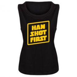 Майка жіноча Han shot first
