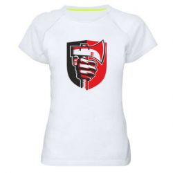 Жіноча спортивна футболка Hand and ax