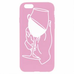 Чохол для iPhone 6 Plus/6S Plus Hand with a glass of wine