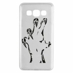 Чехол для Samsung A3 2015 Hand with claws