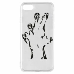 Чехол для iPhone 7 Hand with claws